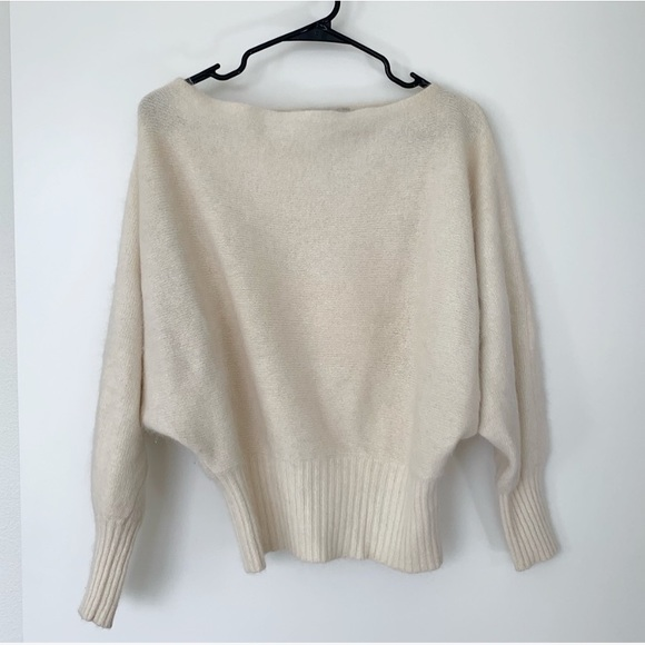 Boat races 80s knit slouchy oversized sweater